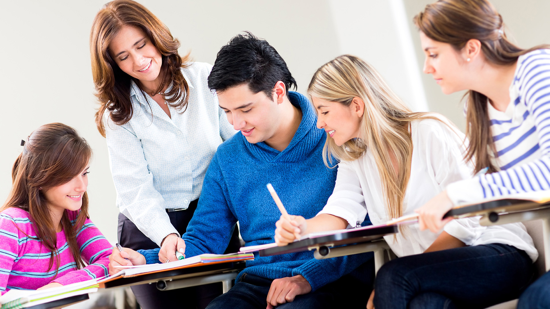 Teaching adult courses